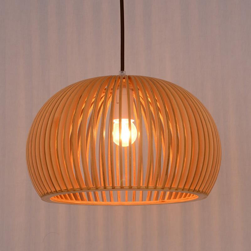 嘉朗北欧原木艺餐厅咖啡厅装饰灯具客厅卧室书房吧台创意汤姆吊灯