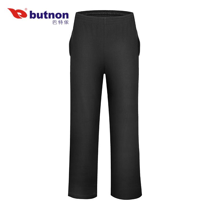 バトレノンのレギンスの男性ズボン夏の薄いカジュアルなスポーツの長ズボンのまっすぐな筒の衛のズボンの編むズボンの黒色の9231