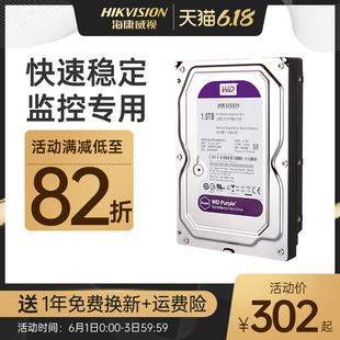 海康威视专用监控硬盘希捷西数1TB/2TB/3TB/4TB/6TB监控配件