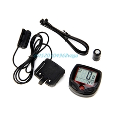 Bike Speedometer Accessories Bicycle Meter Odometer With LCD