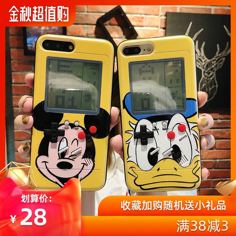 (用41元券)卡通游戏机苹果x iphonexr xr手机壳