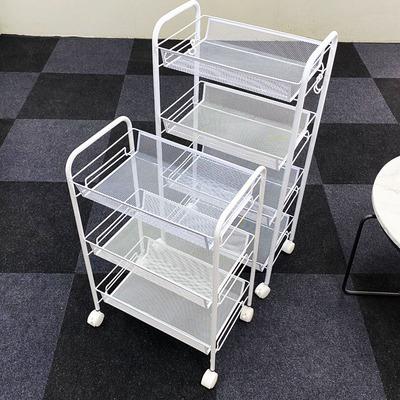 储物移动小推车卧室厕所落地多层可移动书架菜篮子厨房收纳置物架