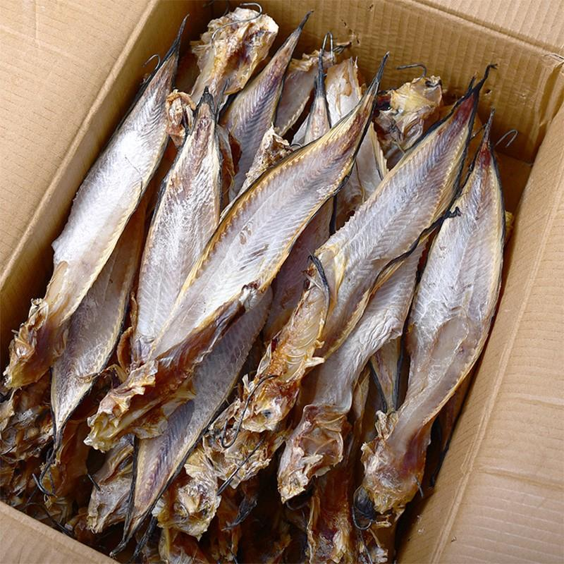 ? Air drying, salting and self drying of seafood