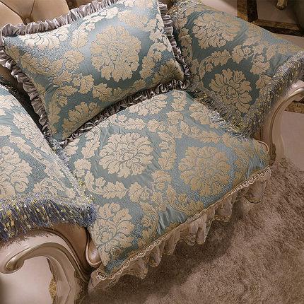 欧式沙发垫四季通用布艺高档奢华防滑沙发套全包万能套装123组合