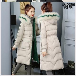 羽绒棉衣女年冬装新款女装韩版收腰显瘦中长款棉服东大门棉袄潮