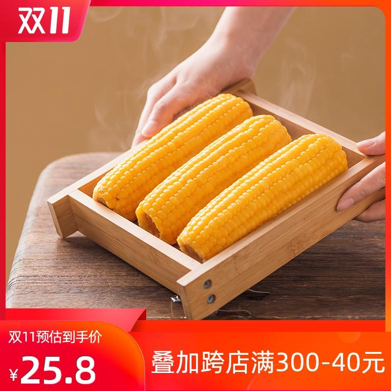 柒然新鲜粘玉米甜糯鲜食糯玉米棒