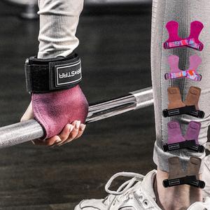 劳拉健身硬拉助力带拉背防滑带手套