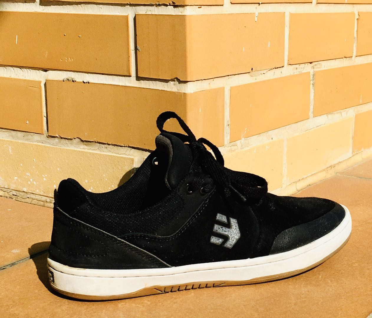 Etnies Michelin 3E cowhide American skateboard shoes lace up professional wear-resistant and shock-absorbing low top summer Lycra mens shoes