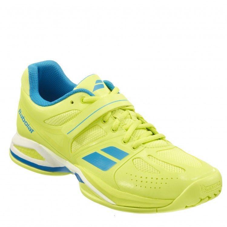 Purchasing Babolat tennis shoes propulse AC yellow 146022