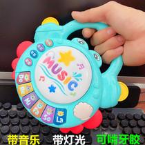 婴儿玩具摇铃可咬0-1岁一2益智男孩五七八九十周6到12个月3女宝宝