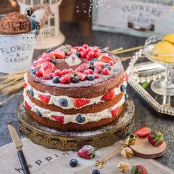 【橙路】2021新年草莓巧克力水果黑森林生日蛋糕上海杭州宁波