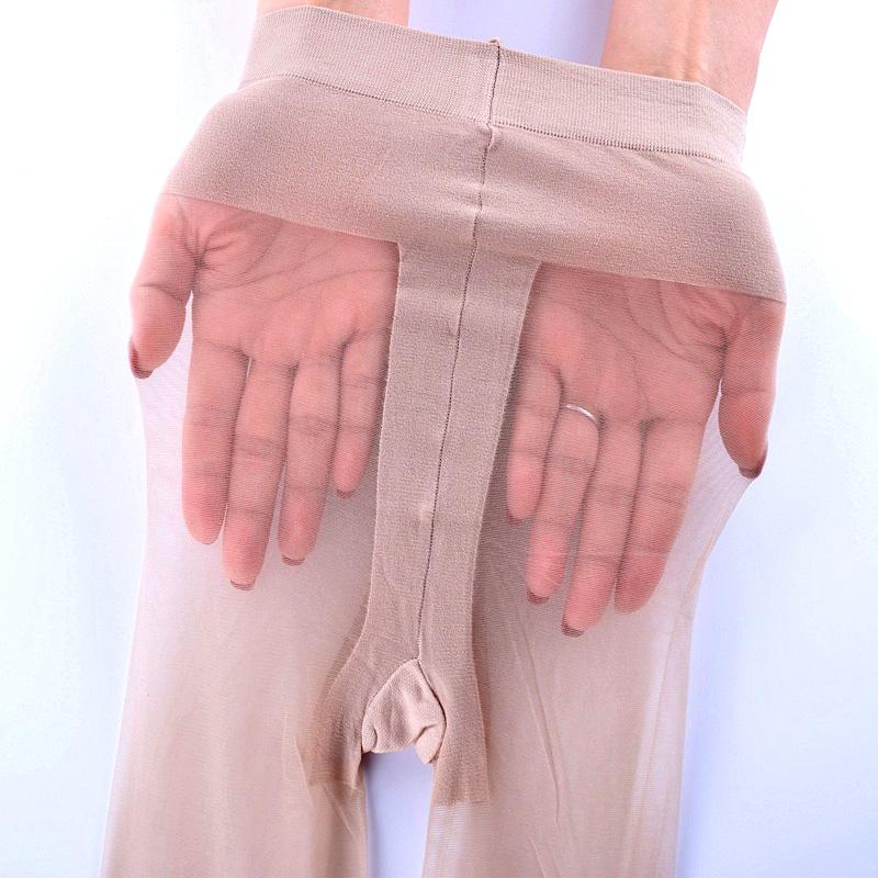 娜娇婷连裤袜 春夏超薄12D包芯丝无痕肉色丝袜T裆防勾丝透肉袜子
