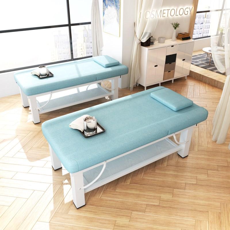 折叠美容床理疗发美体按摩床推拿床带洞SPA加粗家用美容院专用批