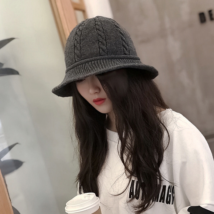 New Korean hat for women in autumn and winter