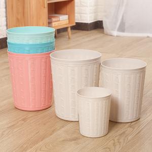 垃圾桶轻奢风北欧风ins垃圾桶可爱少女卧室家用客厅桌面收纳桶