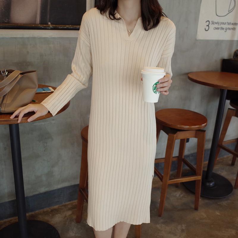 99039韩国东大门2019秋百搭连衣裙(用1元券)