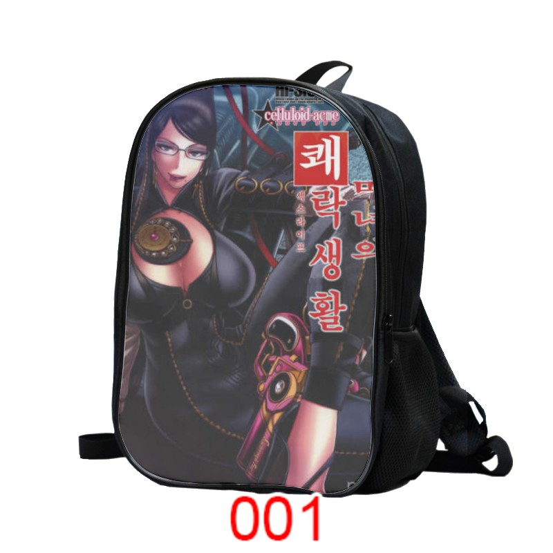 Student schoolbag hunting Angel witch backpack anime peripheral backpack custom issued 2637
