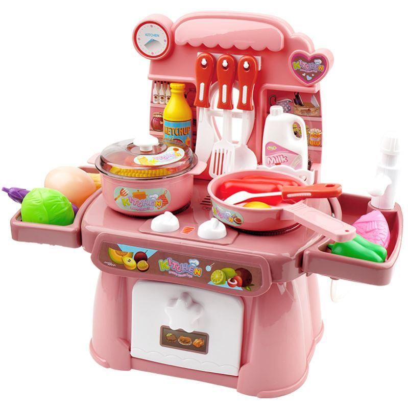 蒸煮饭小童厨房玩具仿真厨具3周岁小班2-3岁男女宝宝饭锅益智玩具