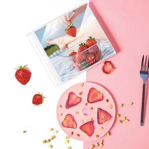 草莓cd巧克力水果diy唱片光盘礼盒装送女朋友生日教师节创意礼物