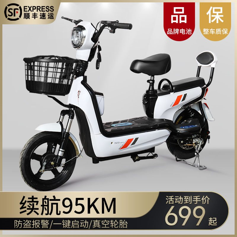 New adult electric bicycle long distance running King 48V mens and womens pedal assisted double lithium battery car scooter