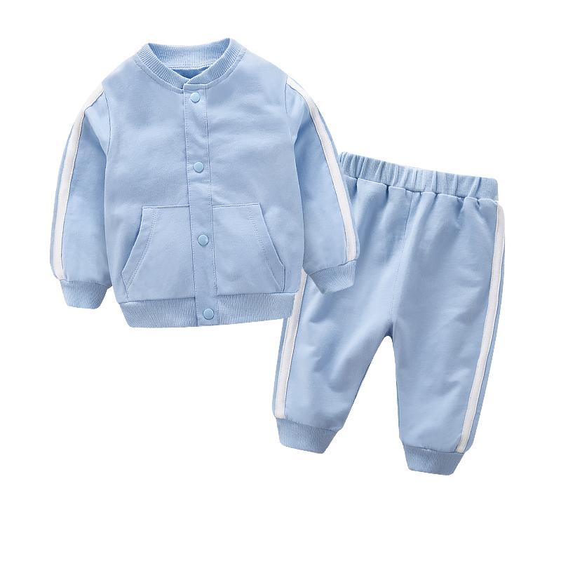 冬装女童加厚套装儿童运动卫衣春秋女孩中大童纯棉两件套童装