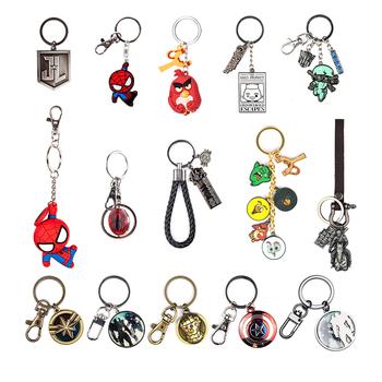 漫威复仇者联盟惊奇队长金属钥匙扣包包挂件男女百搭情侣钥匙链