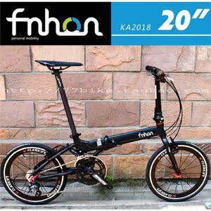 车友推荐KA2018改装整车 20寸折叠车 自行车SP8