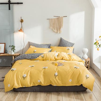 全棉四件套床上用品秋冬1.8米卡通床单双人4套件纯棉宿舍三件套