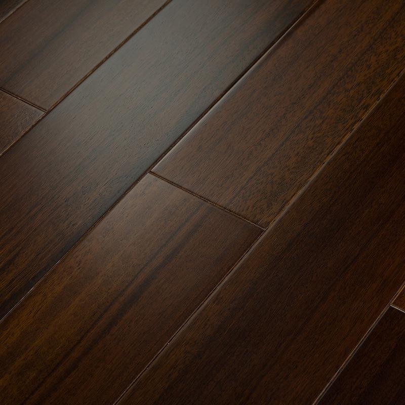 非洲紫檀原木纯实木免龙骨锁扣地板