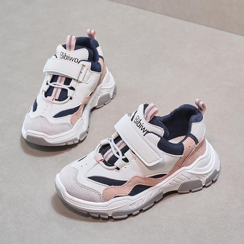 童鞋女童运动鞋2020秋季新款老爹鞋韩版透气儿童休闲鞋中大童鞋子