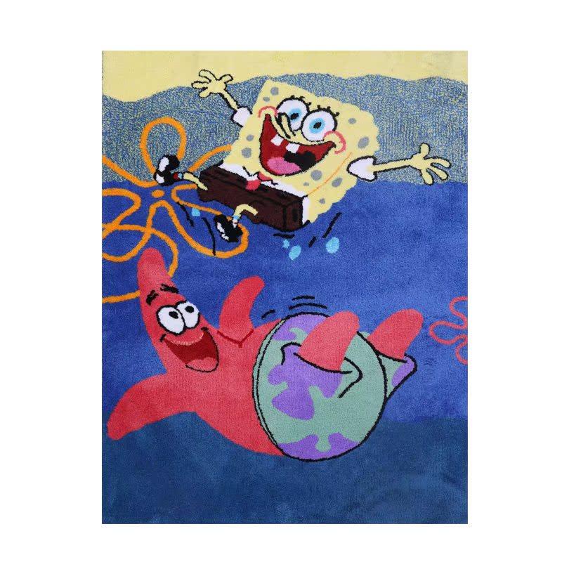 凯业卡通儿童房地毯柔软亲肤材质