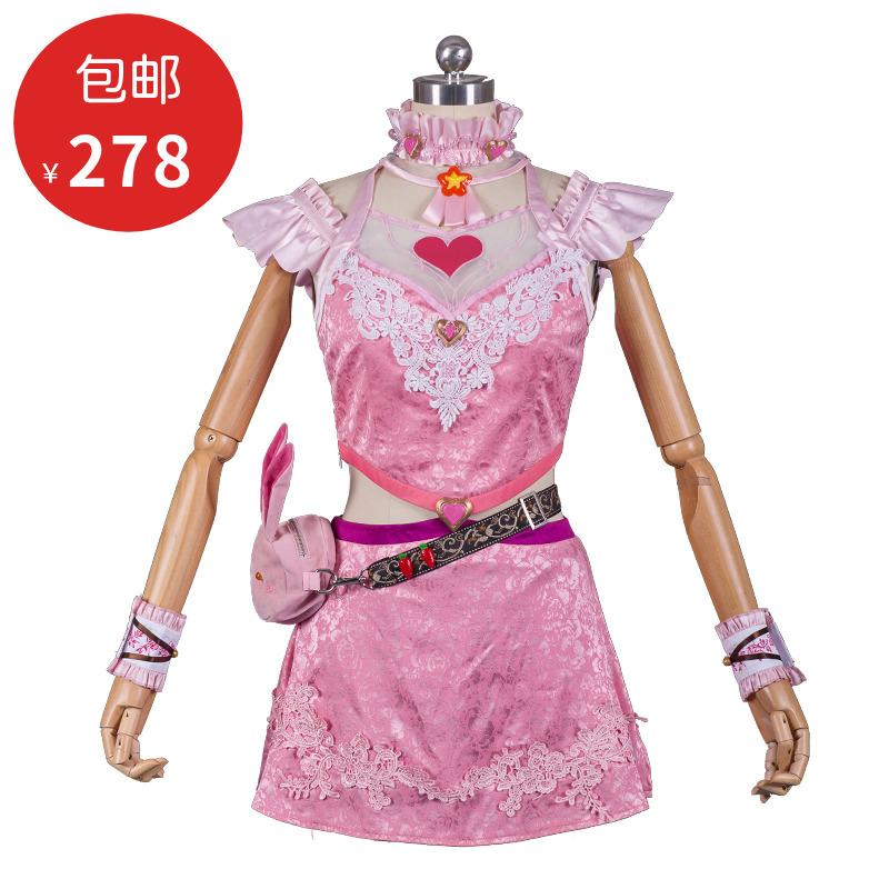 【现货】斗罗 小舞 cosplay 服装女 兔子 唐三儿童COS 假发 大陆