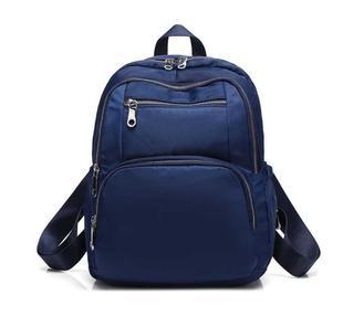 驰豹新款牛津布双肩包休闲电脑包出行旅游男女尼龙帆布背包大容量