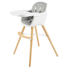 Boboduck Baby Solid Wood Dining Chair Children IKEA Chair Baby Dining Table, Table, Chair and Seat Household