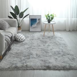 北欧ins地毯客厅茶几卧室满铺可爱网红同款床边毛毯地垫子大面积