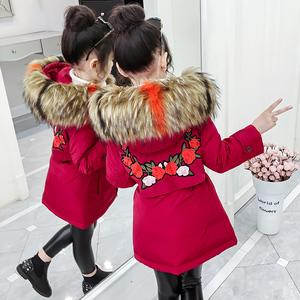 童装冬装2019年新款棉衣加厚外套儿童秋冬季女童羽绒棉服洋气棉袄