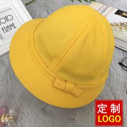 日本小学生幼儿园定制logo儿童帽子