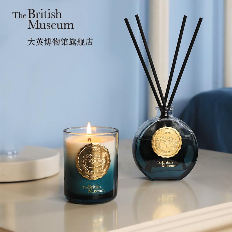 大英博物馆天鹅香氛礼盒蜡烛助眠香薰套装送女友结婚生日毕业礼物