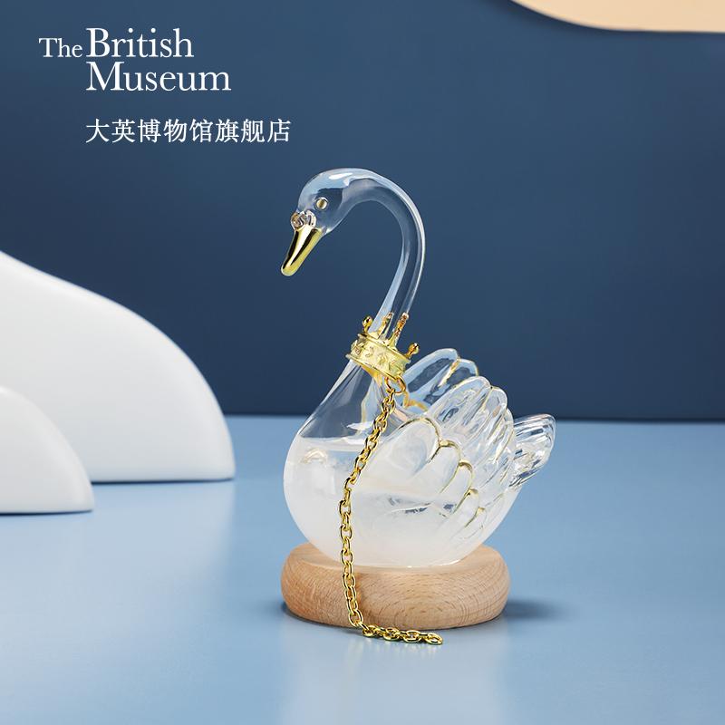 大英博物馆天鹅风暴瓶天气预报瓶送女友摆件生日闺蜜毕业礼物