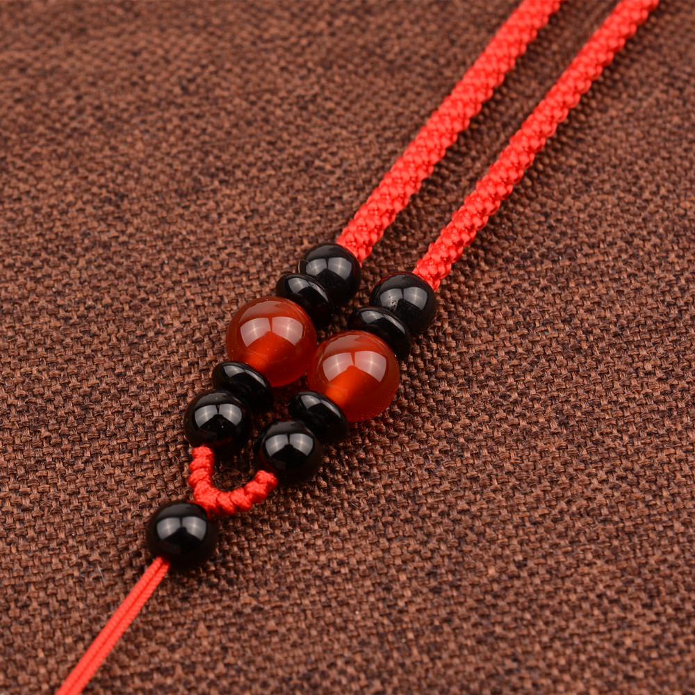 穿玉珠子串佛珠绳子项链线绳戴吊坠
