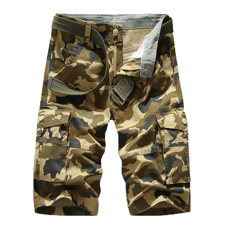 Camouflage shorts mens summer 2020 thin fashion brand casual loose sports Capris Capris camouflage overalls