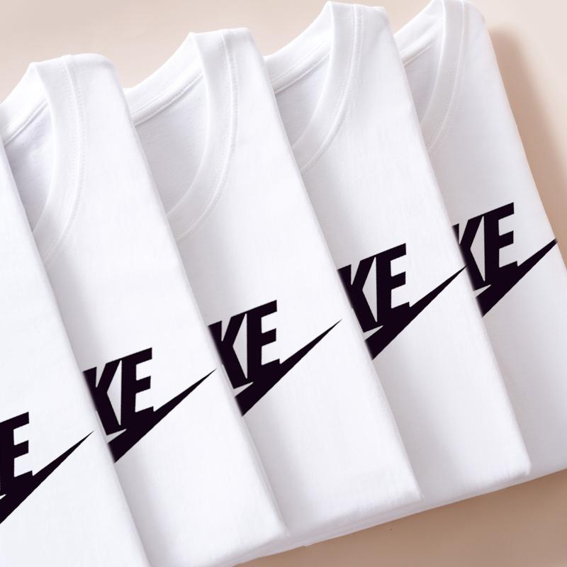 【阿迪&amp耐克】纯棉运动T恤