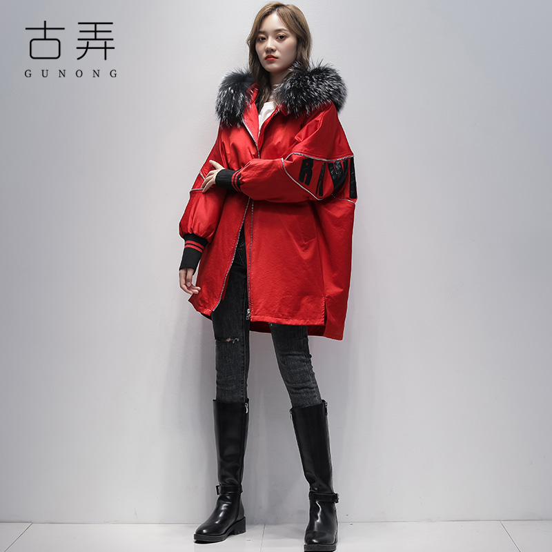 Real fur collar pie overcomes women's mid-length 2020 winter new fur coat with fur liner