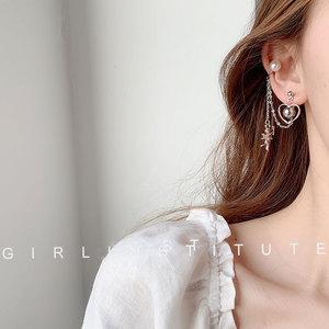 高级感法式复古耳骨夹女耳廓耳环2020年新款潮网红气质耳钉耳夹