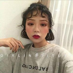 欧美夸张大圈圈耳环女气质韩国网红个性潮流时尚圆圈耳坠耳圈耳饰