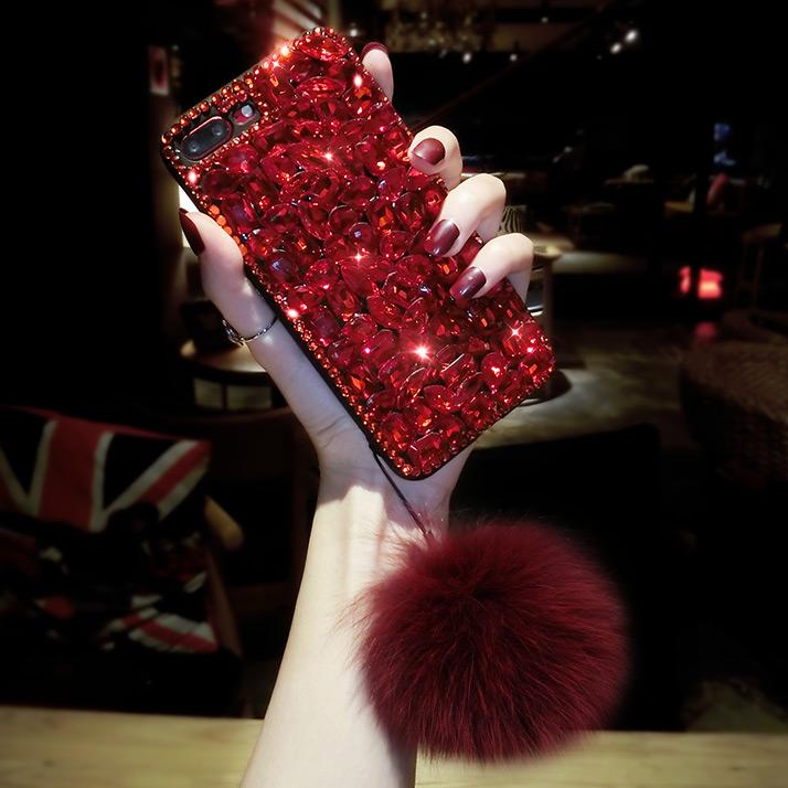 限时抢购iphonexsmax 6sp毛球x苹果手机壳