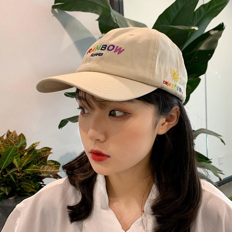 鸭舌帽女潮ins显脸小街头潮人原宿风适合脸大可爱日系韩版棒球帽