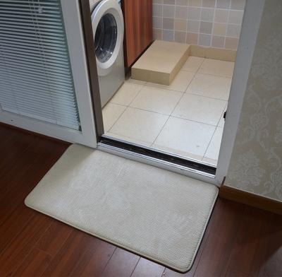 出口外贸 记忆棉慢回弹地垫地毯防滑垫厨房浴室吸水垫门垫脚垫