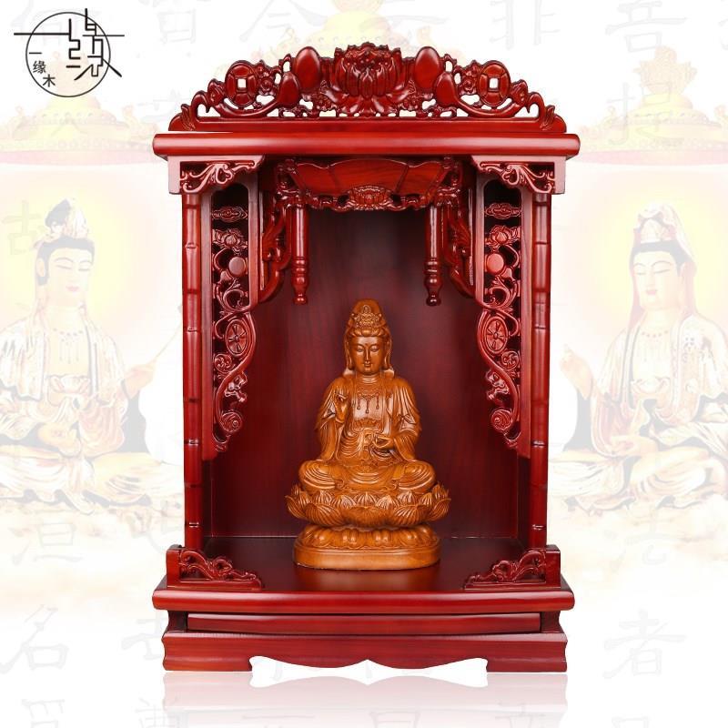 泰国实木供桌家用财神爷供奉中式桌