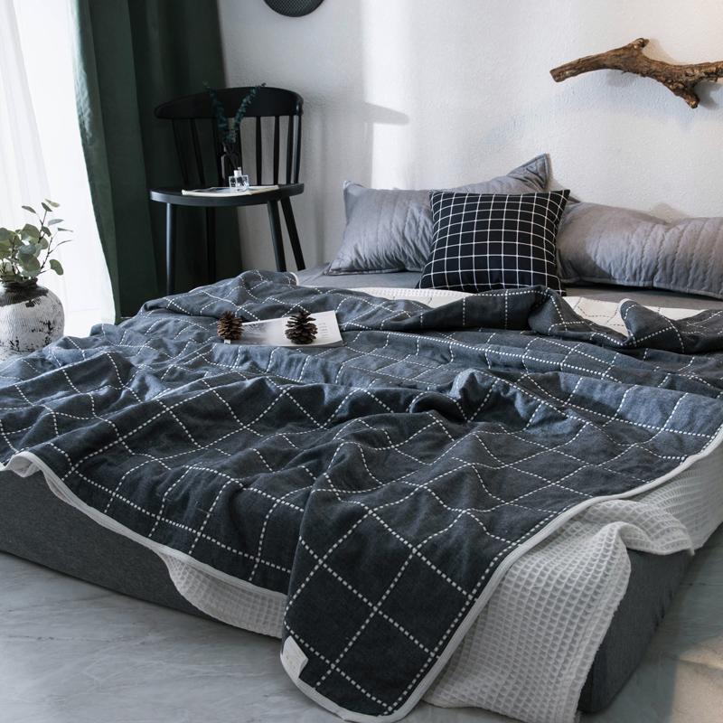 日式六层纱布毛巾被6全棉夏被空调毯夏凉被子纯棉薄盖毯单人双人